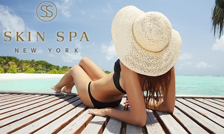 One, Two, or Three Organic Luxury Spray Tans at Skin Spa New York (Up to 59% Off)
