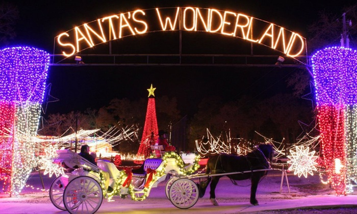Santa's Wonderland - College Station: Santa's Wonderland with Hayride for Two or Four (Up to 46% Off)