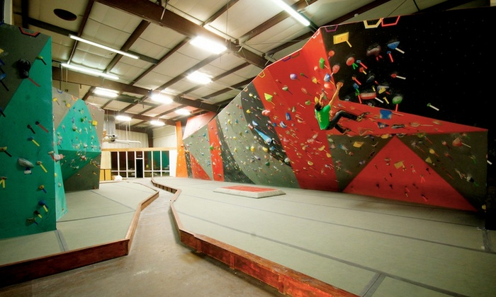 Sport Climbing Center - Colorado Springs: One-Hour Rock-Climbing Lesson and All-Day Climbing Pass for One, Two, or Four at Sport Climbing Center (Up to 63% Off)