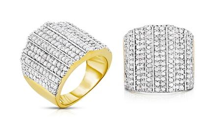 2.00 CTTW Genuine Diamond Ring