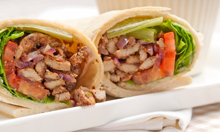 Pita Pit  - Kent: Pitas, Salads, and Smoothies or Catering Platters at Pita Pit (Up to 40% Off)