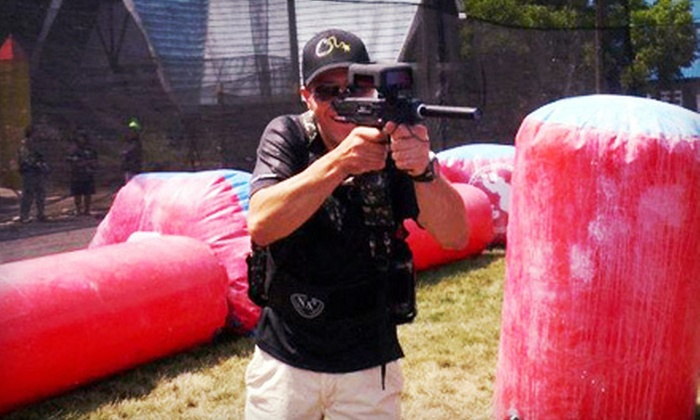 Paintball Explosion - East Dundee: Two Games of Laser Tag for Two or Four at Paintball Explosion (Up to 56% Off)