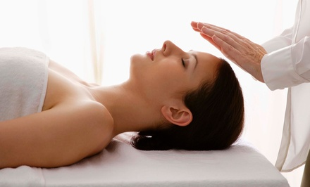 One or Three Reiki Sessions at Presence of Wellness (Up to 55% Off)