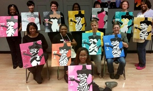 Colorful Canvas Art Parties: Canvas Painting Party for Two or Four at Colorful Canvas Art Parties (Up to 54% Off)