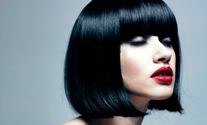 Nuvo Salon: Cut and Conditioning with Option of Partial Highlights, Color, or Full Highlights at Nuvo Salon (Up to 64% Off)