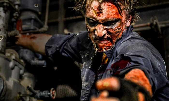 Bane Haunted House - Upper Vailsburg: Two Recruit Passes to Apocalypse Zombie Experience at Bane Haunted House, November 14–15 (Up to 50% Off)