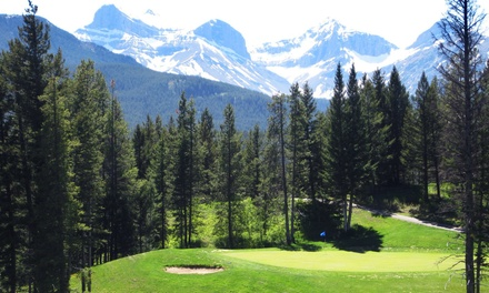 18 Holes with a Cart and Range Balls for Two or Four at Crowsnest Pass Golf & Country Club (Up to 56%Off)