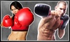 iLoveKickboxing.com (Corporate Account) - Multiple Locations: 4 or 10 Kickboxing Classes with Personal-Training Session and Boxing Gloves at iLoveKickboxing.com (Up to 74% Off)