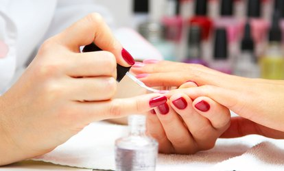 image for <strong>Gel</strong> Manicure, Pedicure, <strong>Gel</strong> Manicure + Pedicure, or <strong>No-Chip</strong> Nailcare at Calhoun Nail Spa (Up to 54% Off)