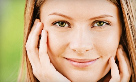 One or Three Microcurrent Facials at Shangri-la Medispa (Up to 75% Off)