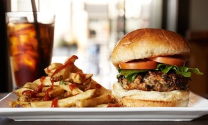 TPR Burger: Burgers and American Fare for Dine-In or Takeout at TPR Burger (Up to 40% Off)