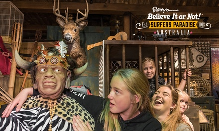 Ripley's Believe It or Not!: Child Aged 512 $10, Adult $17 or Family $52 at Surfers Paradise Up to $81.60 Value