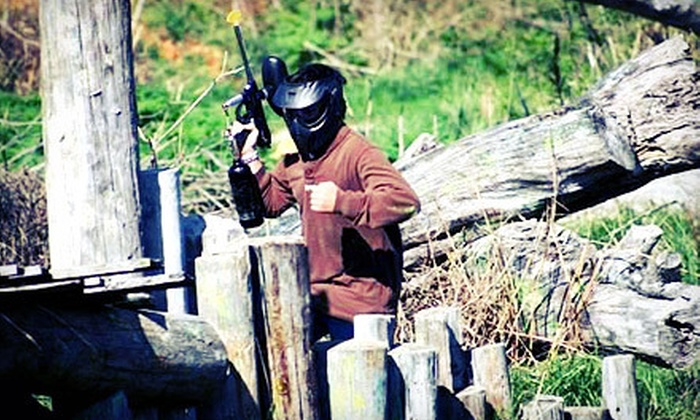 Sport Swings and Paintball - North Galloway: Paintball for Two, Four, Six, or Eight with Rentals and Paint at Sport Swings and Paintball (Up to 57% Off)
