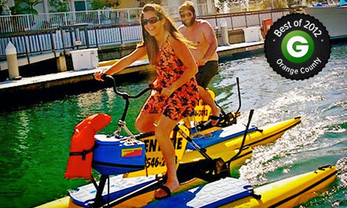 Long Beach Hydrobikes - Belmont Shore: $10 for a One-Hour Hydrobike Ride from Long Beach Hydrobikes ($20 Value)
