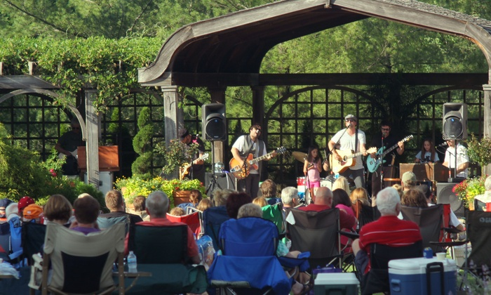 Klehm Arboretum & Botanic Garden - Rockford's Living Museum: Woodsong Summer Concert Series Season Tickets for Two or Four at Klehm Arboretum (Up to 59% Off)
