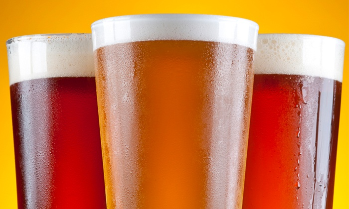 Spring Craft Beer Festival - Belmont Racetrack : Entry for One to the Spring Craft Beer Festival (Up to 47% Off). Two Options Available.