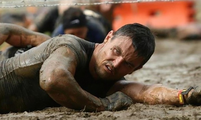 The Titan Run - Center Moriches: 5K-Obstacle-Race Entry for One, Two, or Four from The Titan Run (Up to 56% Off)