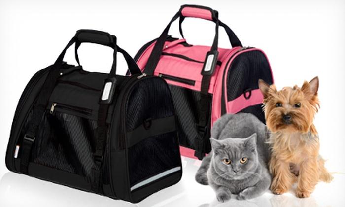 Bergan Comfort Pet Carrier: $25 for a Bergan Large Comfort Pet Carrier in Black or Rose Wine ($39.99 Value)