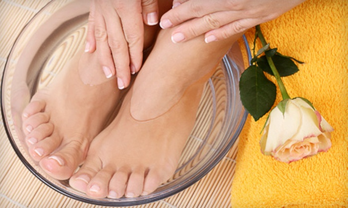 Heaven Wellness Center - Atlanta: One, Three, or Five Ionic Foot-Detox Hydrotherapy Sessions with Chair Massages at Heaven Wellness Center (Up to 55% Off)