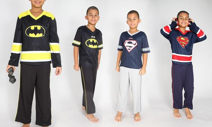 DC Comics Boys' Pajamas: DC Comics Boys' Batman or Superman Pajamas. Short- and Long-Sleeve Designs Available from $12.99–$13.99. Free Returns.