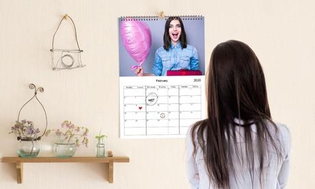 Hasta 5 calendarios de pared personalizable A4 con Printerpix (hasta 90% de descuento)