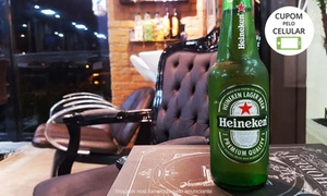 NOSTRA BARBA BARBEARIA LTDA - ME: Corte de cabelo e/ou barba + 1 cerveja Heineken na Nostra Barba Barbearia – Jardim Paulista