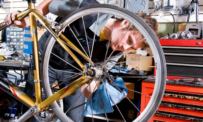 Basic or Deluxe Bike Tuneup at Bike Connection (Up to 49% Off)