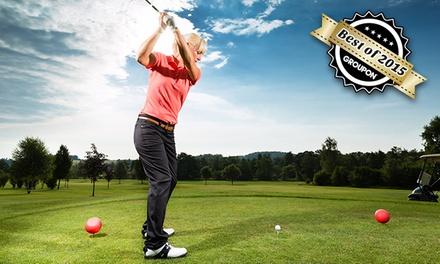 1x, 3x oder 5x Ganztages-Greenfee unlimited bei Konzept Golf ab 12,90 € (bis zu 64% sparen*)