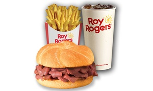 Roy Rogers Restaurant: $12 for Two Groupons, Each Good for $10 Worth of Food and Drink at Roy Rogers Restaurant ($20 Value)
