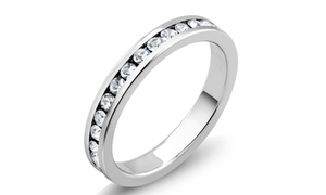 4.00 CTTW Cubic Zirconia Eternity Band at 4.00 CTTW Cubic Zirconia Eternity Band, plus 6.0% Cash Back from Ebates.