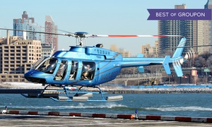 Manhattan Helicopters: Classic Manhattan Helicopter Tour with Photo for One or Two at Manhattan Helicopters (Up to 26% Off)