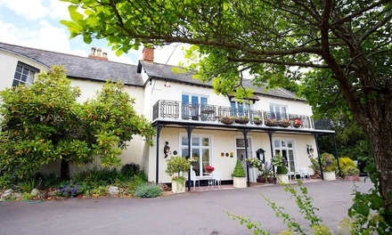 Taunton: 1 to 3 Nights for Two with Breakfast and Option for Dinner at Farthings Country House Hotel & Restaurant