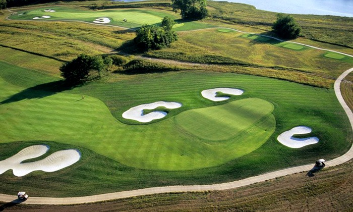 The Golf Club at Creekmoor - Raymore: 18-Hole Round with Cart and Range Balls for Two at Creekmoor (Up to 51% Off). Two Options Available.