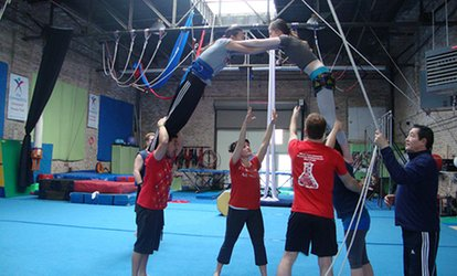 image for $29 for Two Adult Sports-Acrobatics Classes at MSA & <strong>Circus</strong> Arts ($60 Value)