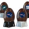 NFL Ceramic Football Salt and Pepper Shakers