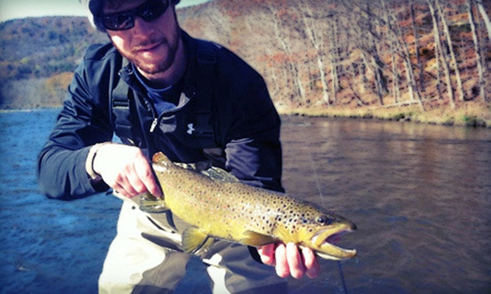 GSOutfitting - Greenfield Town: Half- or Full-Day Fly-Fishing Trip for Two from GSOutfitting (Up to 51% Off)