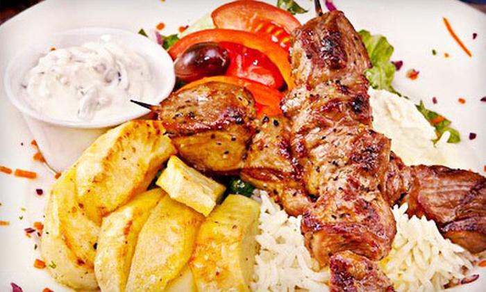 Blue Olive Greek Taverna - West End: $10 for $20 Worth of Greek Food for Carryout or Delivery from Blue Olive Greek Taverna