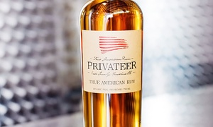 Privateer Rum: 90-Minute Distillery Tour with Shirts for Two or Four at Privateer Rum (Up to 48% Off)