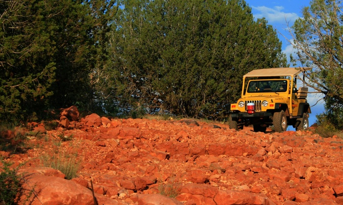 A Day in the West Jeep Tours - Sedona: Sedona 2-hour Jeep Tour plus Trolley Tour from A Day in the West (Up to 50% Off). Three Options Available.