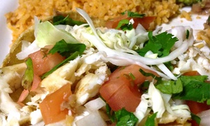 El Molino Mexican Restaurant: $25 Voucher for Sunday - Thursday or Any Day at El Molino Mexican Restaurant (Up to 40% Off)