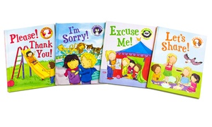 Book of Manners Set with Reward Stickers (4-Piece)