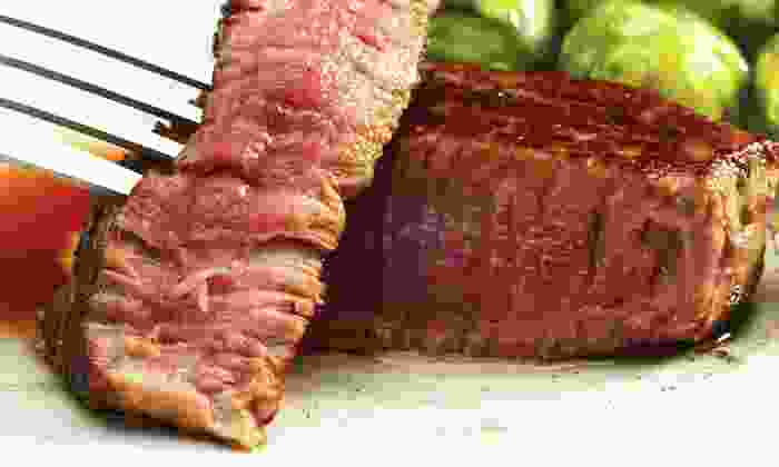 The Wild Mushroom Steak House & Lounge - Weatherford: Three-Course Steak-House Meal for Two or Four at The Wild Mushroom Steak House & Lounge (Up to 66% Off)