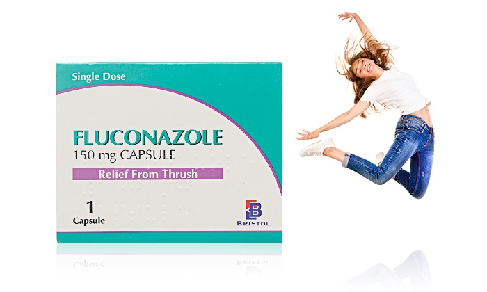 Three Packs of Fluconazole Capsules for £2 49 With Free Delivery (79% Off)