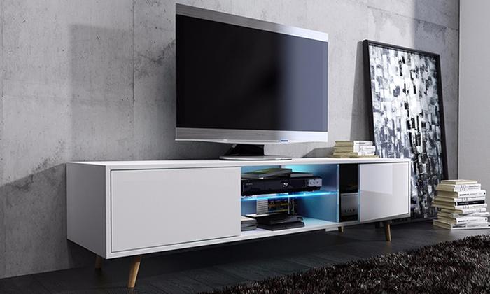 Rivano Tv Schrank Mit Led Groupon Goods