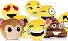 Emoticon Plush Pillow: Emoticon Plush Pillow