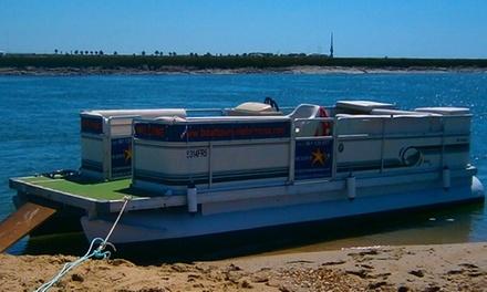 Estrela da Ria Formosa — Faro: passeio de barco pelo Parque Natural da Ria Formosa para 2, 4 ou 10 pessoas desde 24,90€