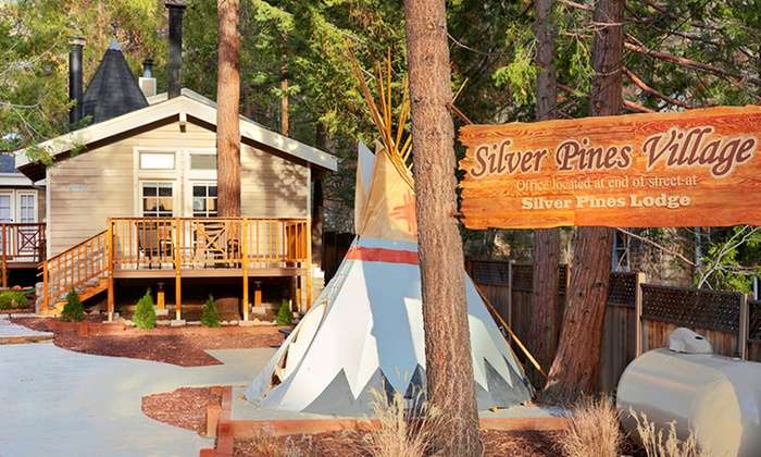 Silver Pines Village - Idyllwild, CA: 1- or 2-Night Stay for Two at Silver Pines Village in Idyllwild, CA. Combine Up to 4 Nights.