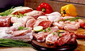 Boucherie Ch. Huet Migné - Biard: Panier de viandes, à récupérer sur place à 42,90 € à la Boucherie Ch. Huet Migné - Biard
