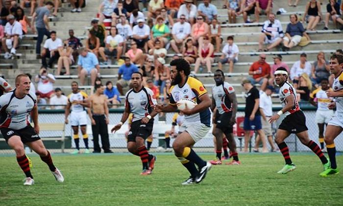 Atlanta Rhinos vs. Central Florida Warriors - Atlanta Silverbacks Stadium: Atlanta Rhinos Rugby Game for Two or Four on Saturday, July 12, at 4 p.m. at Atlanta Silverbacks Park (Up to Half Off)