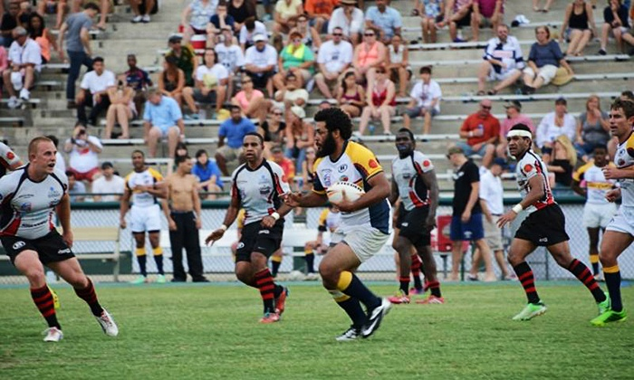 The Atlanta Rhinos - Atlanta Silverbacks Stadium: $5 for Atlanta Rhinos Rugby Game for Two at Atlanta Silverbacks Stadium on Saturday, July 18, at 3:30 p.m. ($10 Value)